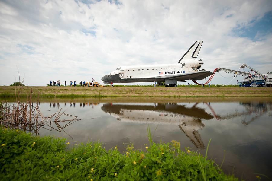 Transbordadores espaciales: punto y final