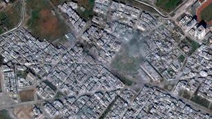 Ver vídeo  'Tras un mes de asedio, un convoy de Cruz Roja ha entrado en la ciudad Siria de Homs'