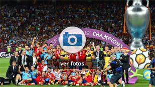La trayectoria de España en la Eurocopa en imágenes