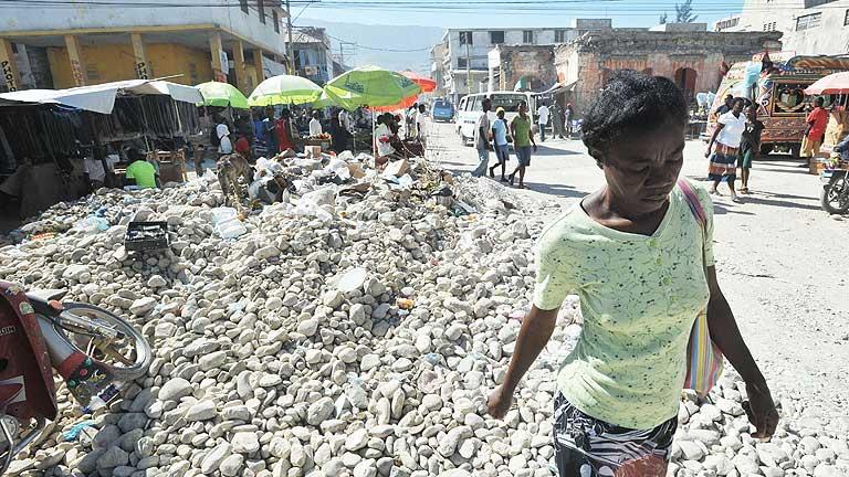 Tres años del terremoto de Haití