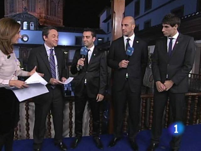 Tres campeones, en TVE