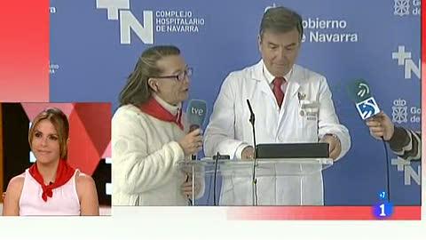 Ver vídeo  'Tres contusionados en el quinto encierro de San Fermín 2012, de Fuente Ymbro'