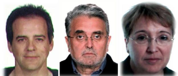 Vicente Sarasa Cecilio, Juan Antonio Ramón Teijelo y Manuela Ontanilla Galán