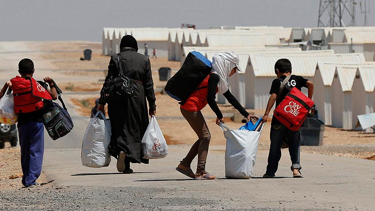 Tres millones de personas han huido de la guerra de Siria
