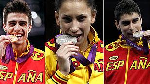 Tres de tres en taekwondo