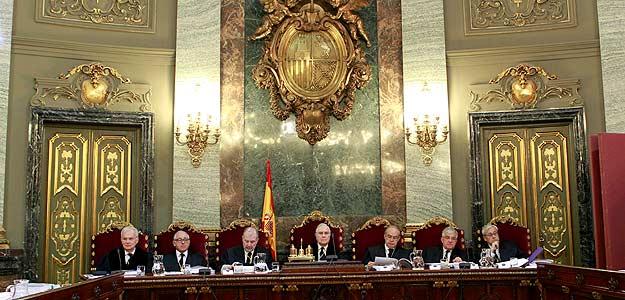 El supremo basa el veto a sortu a las elecciones en que for Sala 4 tribunal supremo