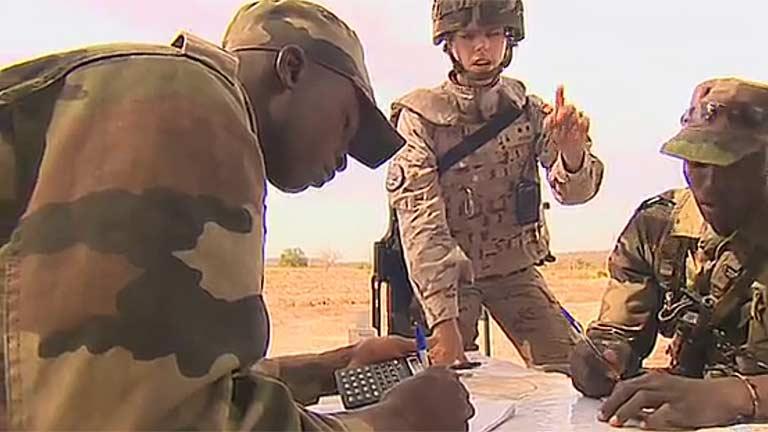 Tropas europeas ayudan al ejército de Mali a ser independiente