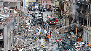 Ver vídeo  'Turquía acusa a Siria de estar detrás del atentado que deja más de 40 muertos'