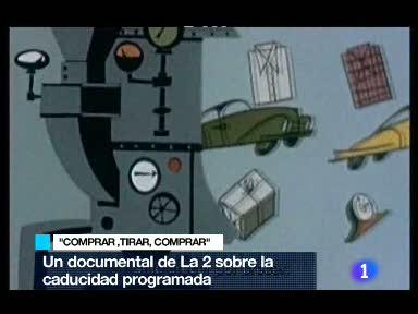 """Ver vídeo  'TVE emite el documental """"Comprar, tirar, comprar""""'"""