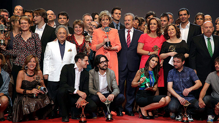 TVE, gran triunfadora de los Premios Iris de  la Academia de Televisi&oacute;n con 11 galardones