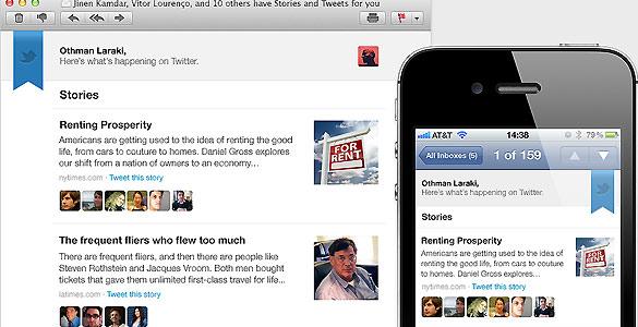 Twitter selecciona lo mejor de la semana para cada usuario