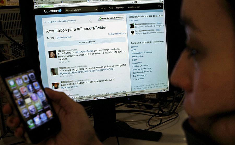 Twitter cambia su sistema de bloqueo de mensajes y los usuarios se enfadan