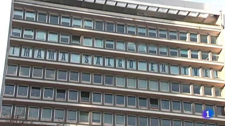 Una agencia publicitaria de Lisboa usa sus ventanas para proyectar mensajes