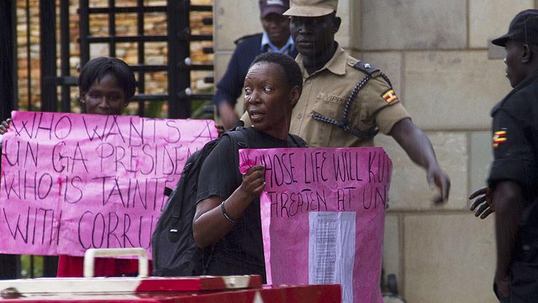 Uganda presidirá la Asamblea de la ONU pese a sus leyes contra homosexuales
