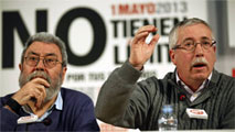 Ir al Video UGT y CC.OO. apoyan a Madrid 2020