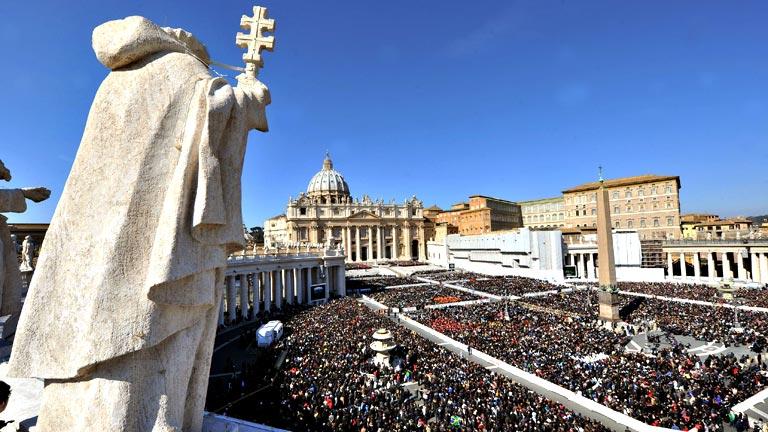 Última audiencia general de Benedicto XVI antes de dejar el papado