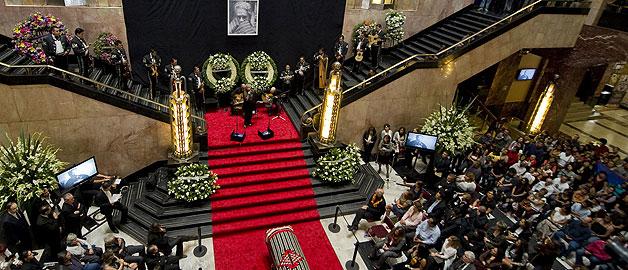 Último adiós a Chavela Vargas en el Palacio de Bellas Artes de México