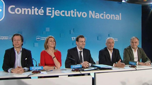 Ver vídeo  'Unanimidad en el PP en defensa de los 100 días de gobierno de Rajoy'