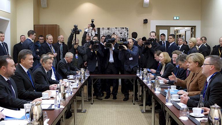 La Unión Europea no consigue firmar un acuerdo con Ucrania, que pide más dinero