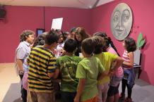 Uno de los talleres infantiles de la Feria del Libro de Madrid
