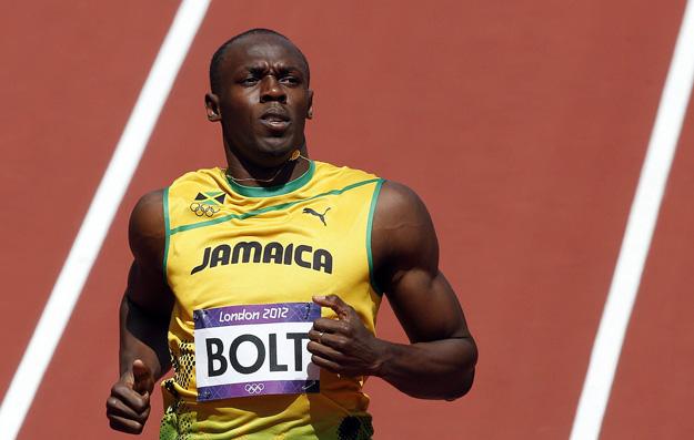 Usain Bolt tras su serie de los 100 metros