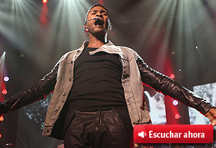 Usher, la gran figura del R&B moderno, conquista con baile y canciones