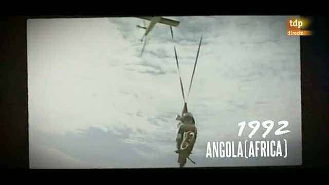 Un vado peligroso en el Dakar 1992