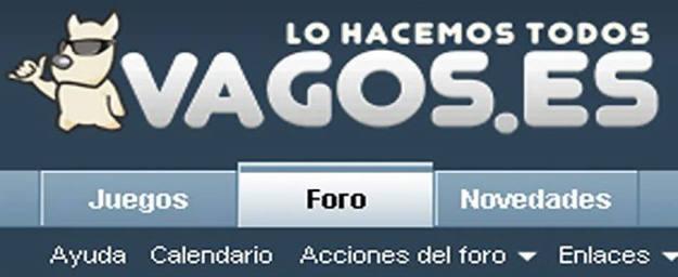 La popular página de Vagos.es ha cerrado tras la notificación de la Ley Sinde