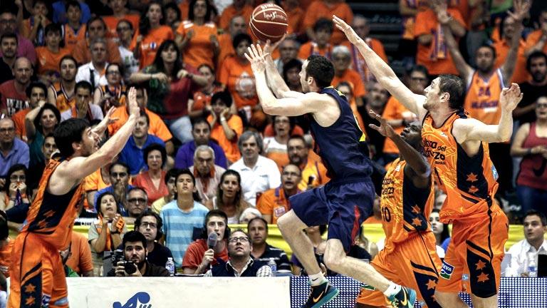 Valencia Basket 75 - FC Barcelona 77