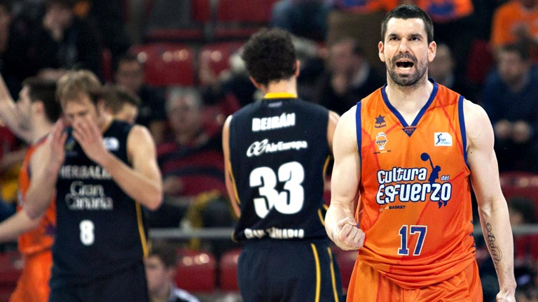 Valencia Basket 83-72 Herbalife Gran Canaria