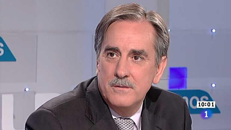 Los desayunos de TVE - Valeriano Gómez, portavoz de Economía del PSOE en el Congreso de los Diputados