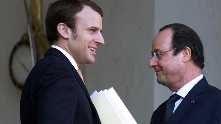 Hollande aúpa a un asesor de confianza para llevar Economía