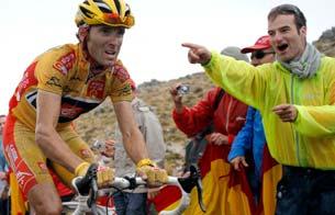 Ver vídeo  'Valverde gana enteros tras la montaña'