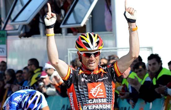 Valverde se lleva la etapa