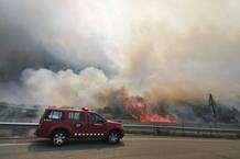 Incendio Forestal en La Jonquera