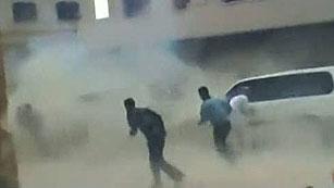 Ver vídeo  'Vehículos de la ONU resultan dañados en ataque del régimen sirio'