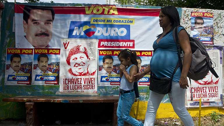 Venezuela elige este domingo al sucesor de Hugo Chávez