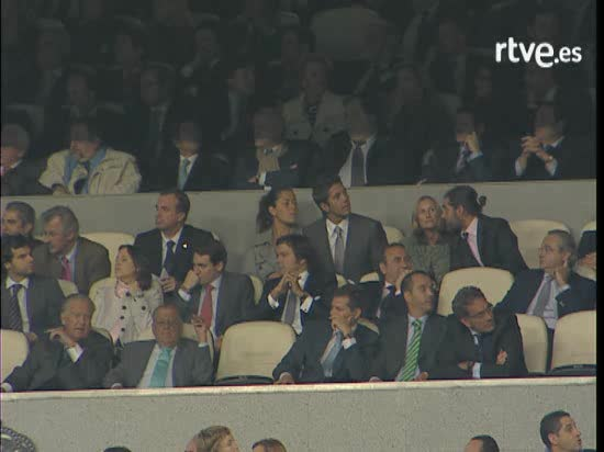 Verdasco e Ivanovic en el Bernabeu