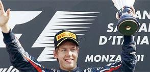 Vettel alcanza en el GP de Italia su octavo triunfo de la temporada