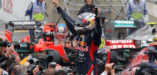 Vettel conquista su tercer Mundial de Fórmula 1