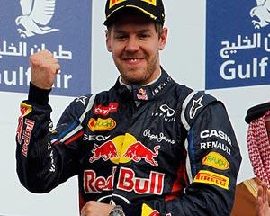 Vettel se estrena en Baréin y se coloca líder del mundial; Fernando Alonso acaba séptimo