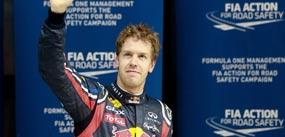 Vettel se impone sin problemas y Alonso termina tercero