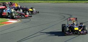 Vettel sigue por el camino de la victoria y arrasa en Australia