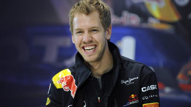 Vettel sigue de celebraci&oacute;n