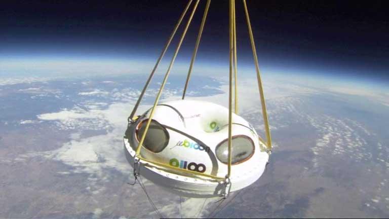 Viajes turísticos al espacio a partir de 2014
