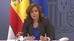 Ver vídeo  'La vicepresidenta del gobierno ha pedido reflexión a los sindicatos'