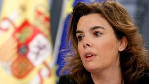 Ver vídeo  'La vicepresidenta del gobierno reconoce que las medidas no son populares pero sí necesarias'