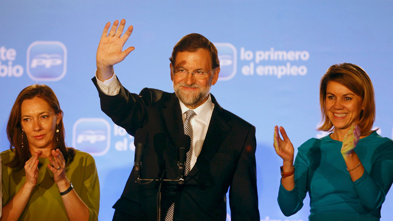 Victoria hist&oacute;rica del PP en las elecciones generales