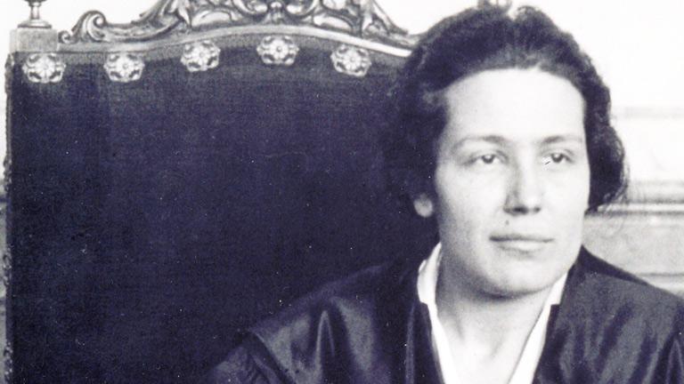 Mujeres para un siglo - Victoria Kent: la justicia (comienzo)