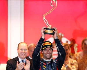 Victoria de Webber en Mónaco; Fernando Alonso, líder